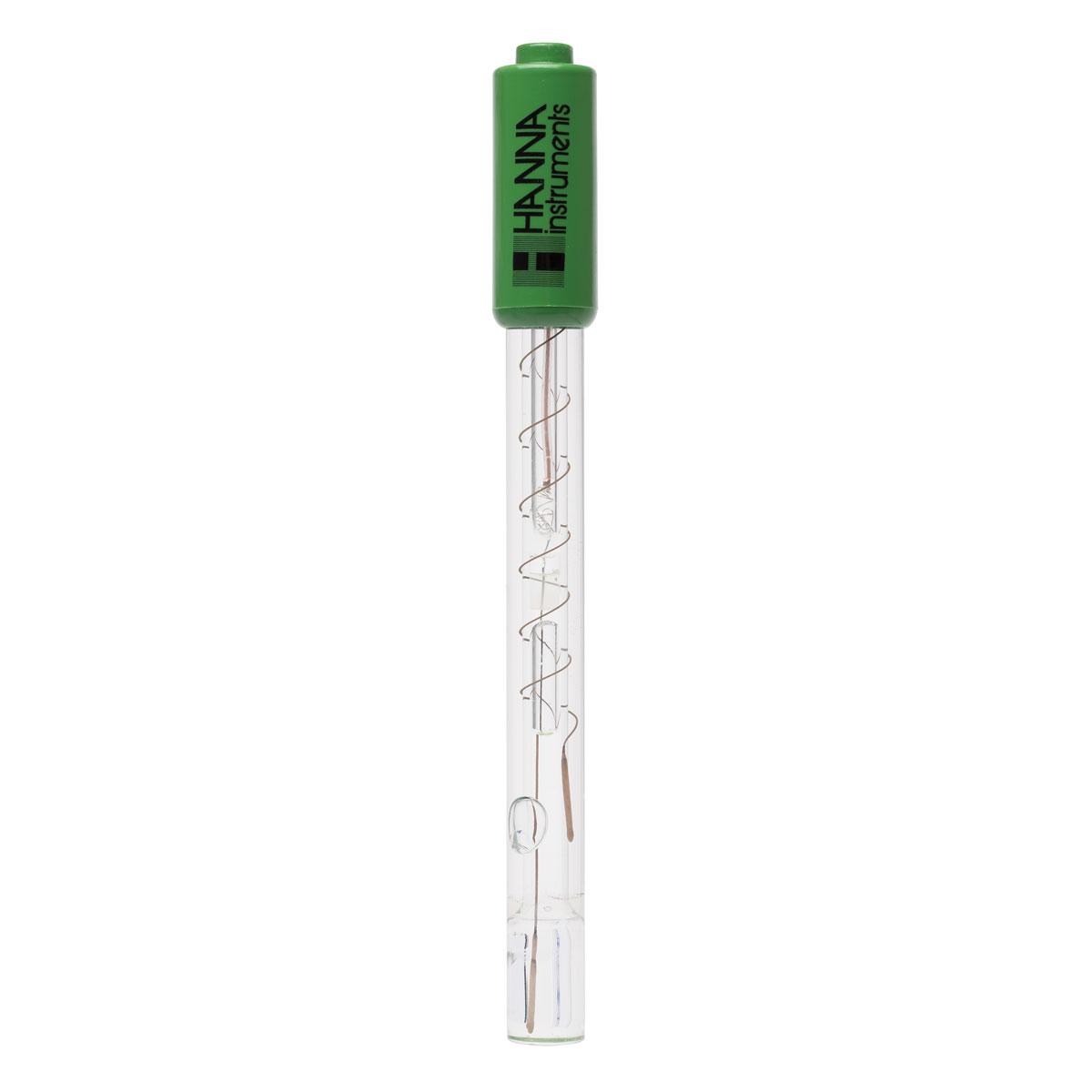Elettrodo pH con punta piatta per superfici e pelle e con connettore BNC - HI1413B