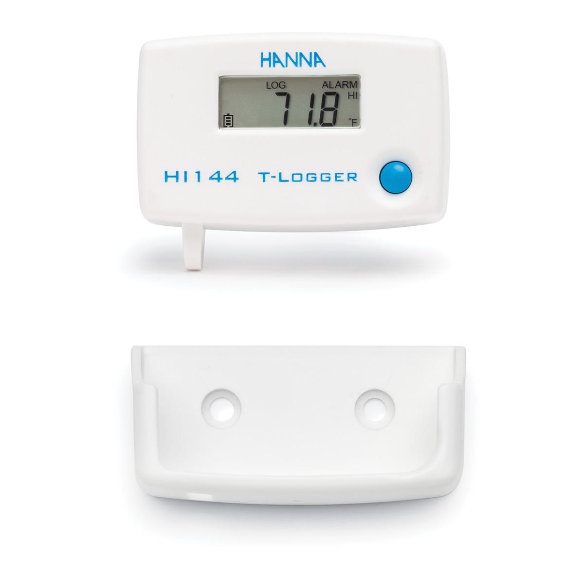 Registratore temperatura con supporto montaggio a parete