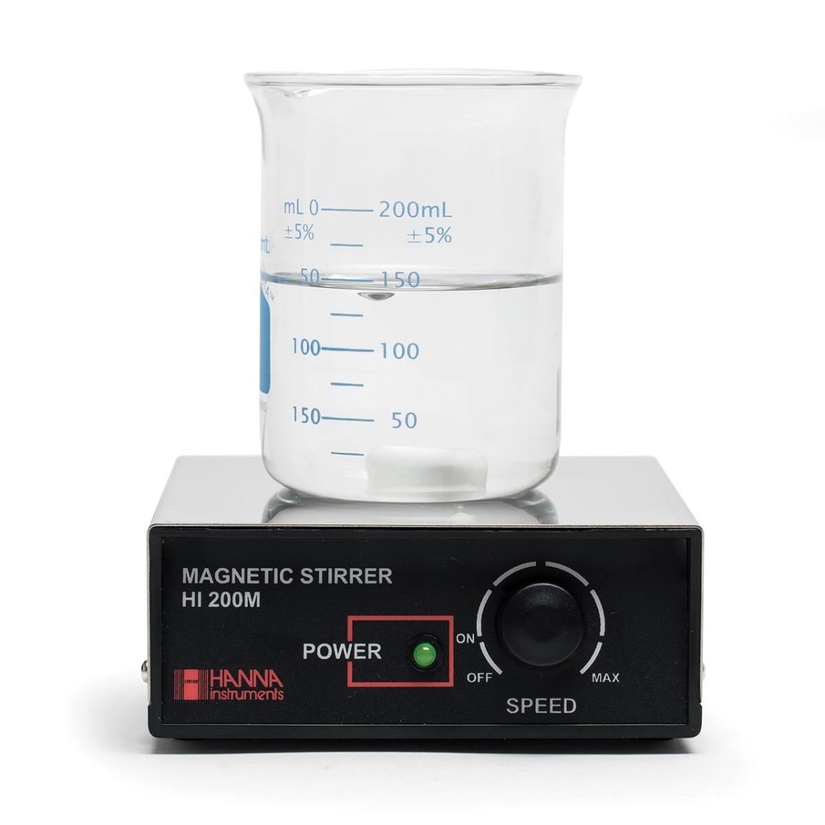 Agitatore magnetico, superficie in acciaio, 230 Vac