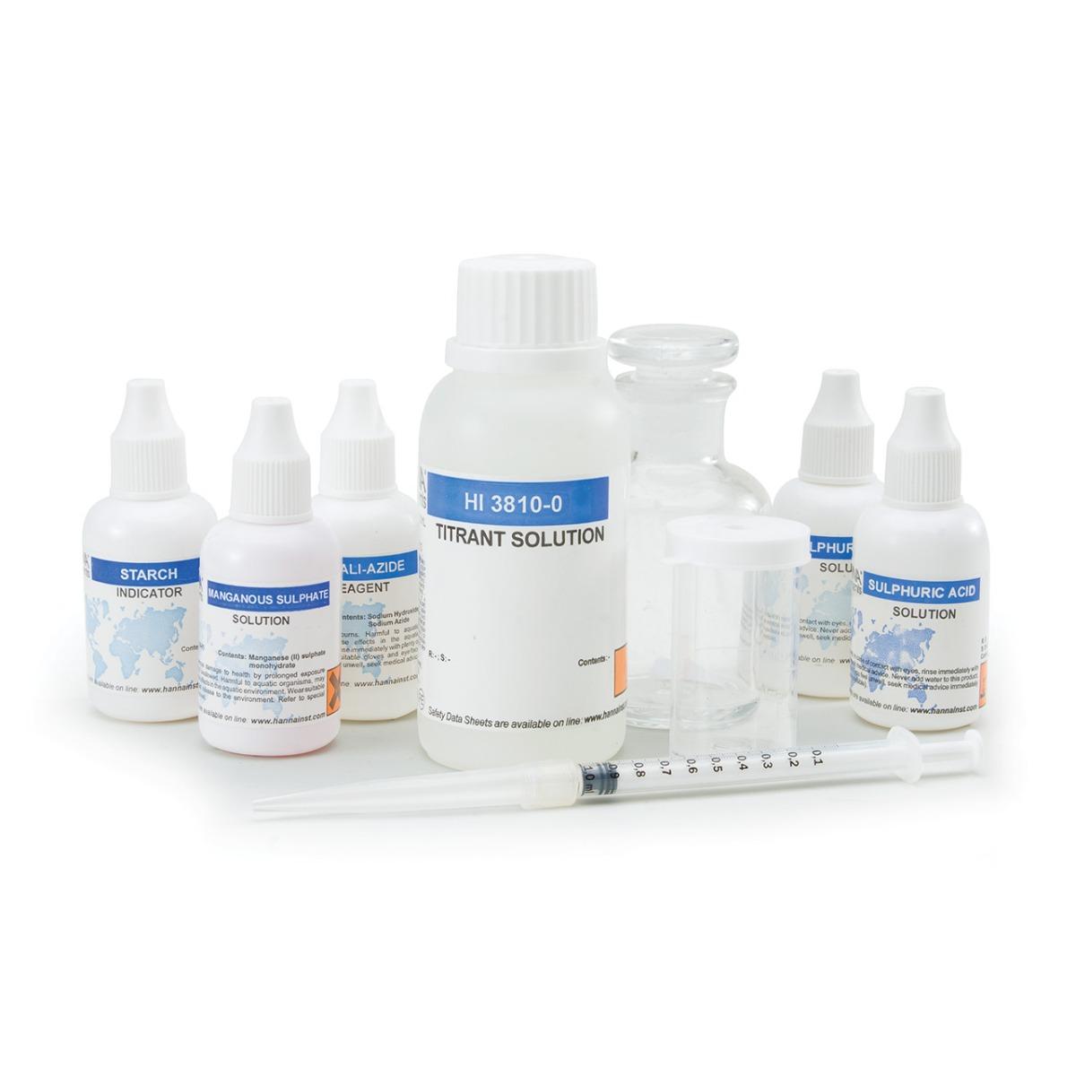 Kit per analisi di ossigeno disciolto - HI3810