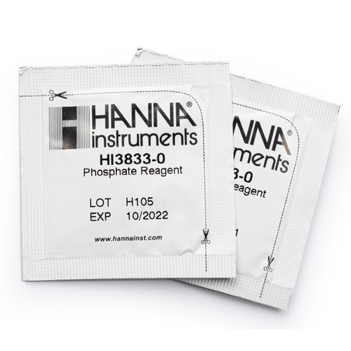Reagenti di ricambio per test kit fosfati (50 analisi) - HI3833-050