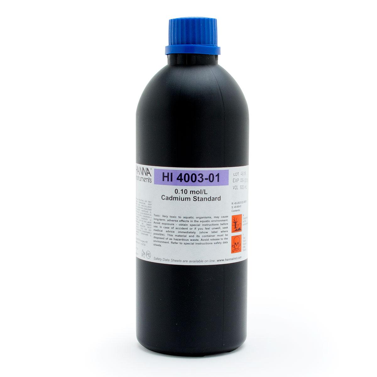 HI4003-01 Cadmium Standard 0.1M (500 mL)