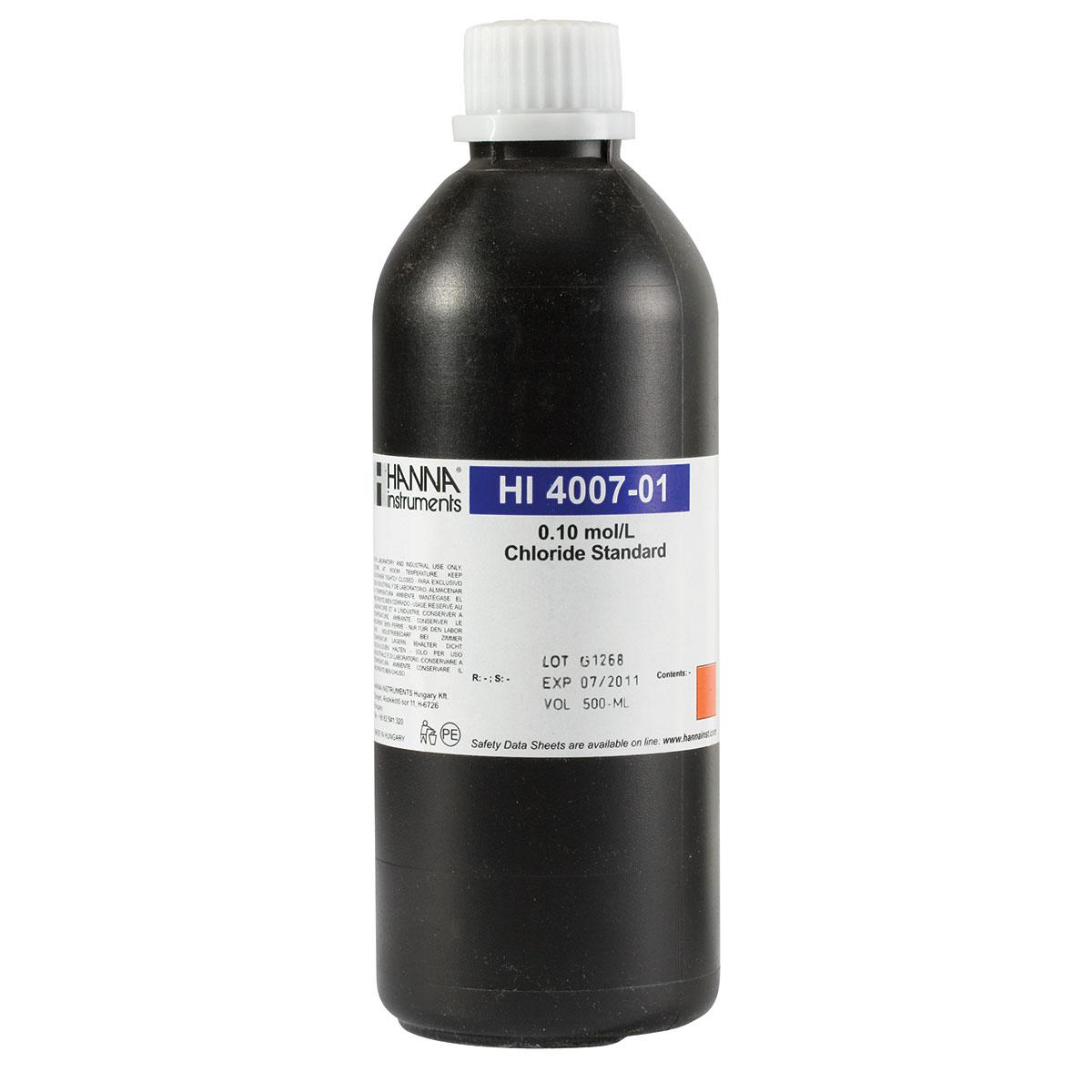 HI4007-01 Chloride Standard 0.1M (500 mL)