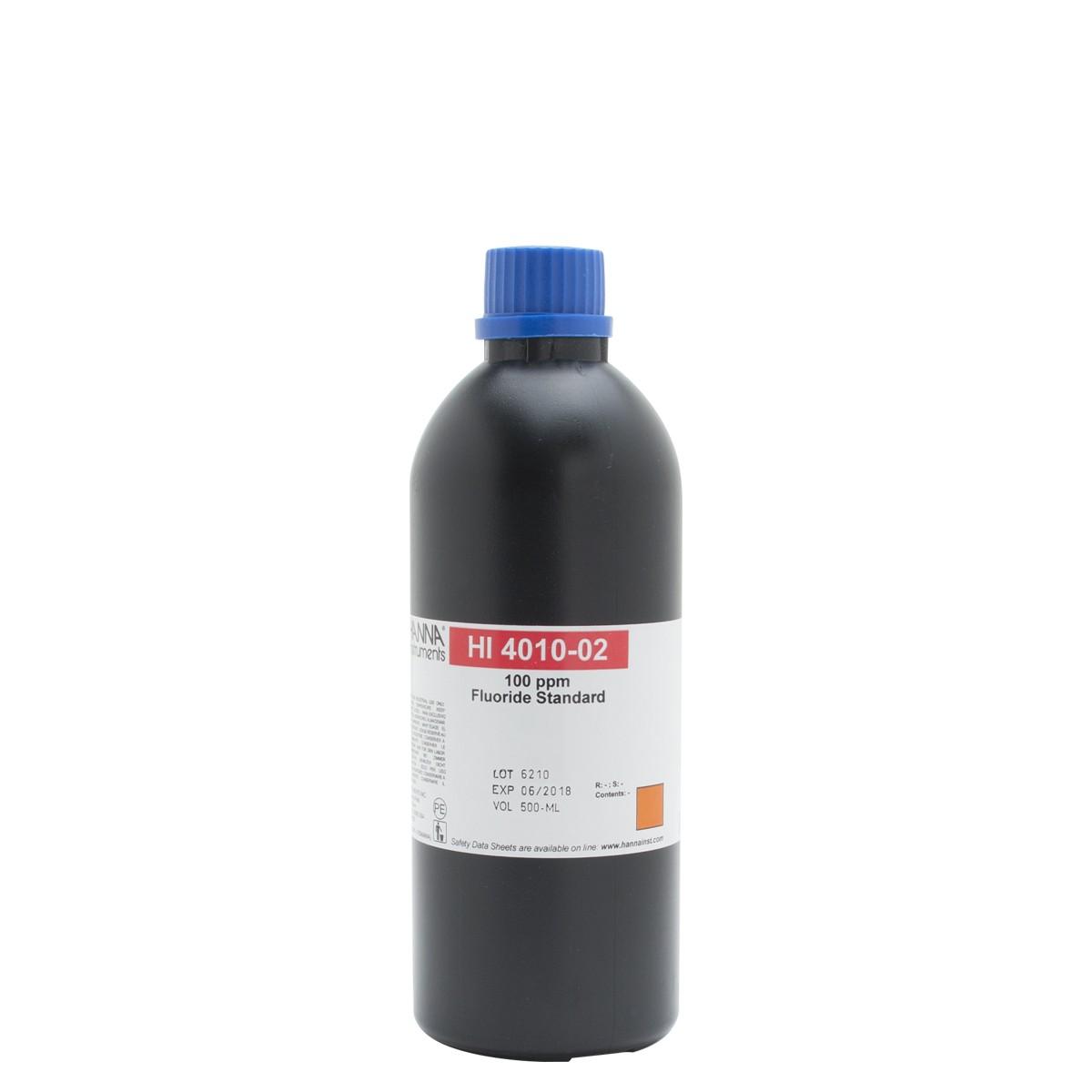 Soluzione standard fluoruri 100 ppm - HI4010-02