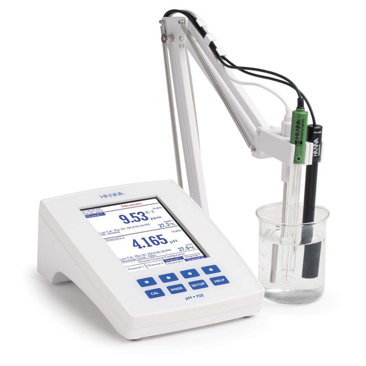 HI5222 - pHmetro da banco con metodi incrementali ISE