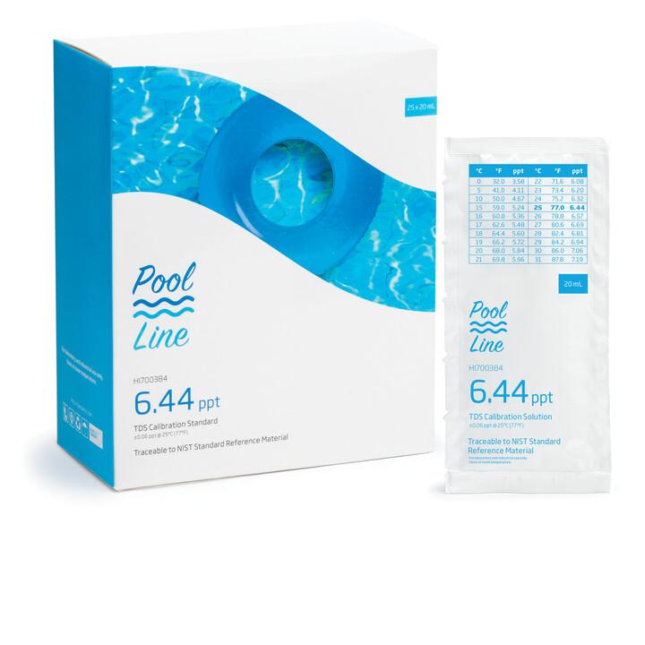 HI700384P Pool Line 6.44 ppt TDS Sachets