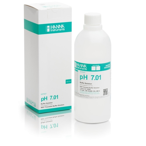 HI7007L pH 7.01 Calibration Solution (500 mL)