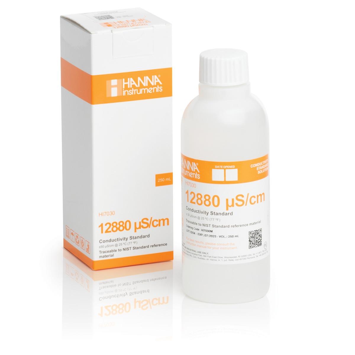 HI7030M 12880 µS/cm EC (230 mL) bottle