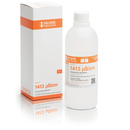 HI7031L 1413 µS/cm EC (500 mL) bottle