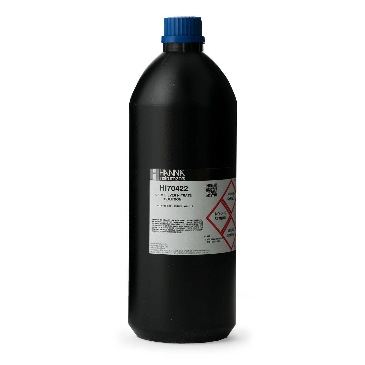 Silver Nitrate 0.1M, 1L - HI70422