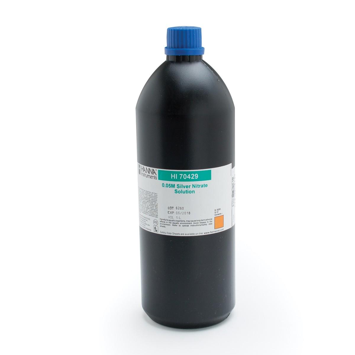 Silver Nitrate 0.05M, 1L - HI70429