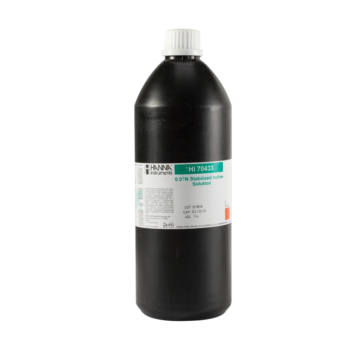 Iodio stabilizzato 0.01N, 1L - HI70433