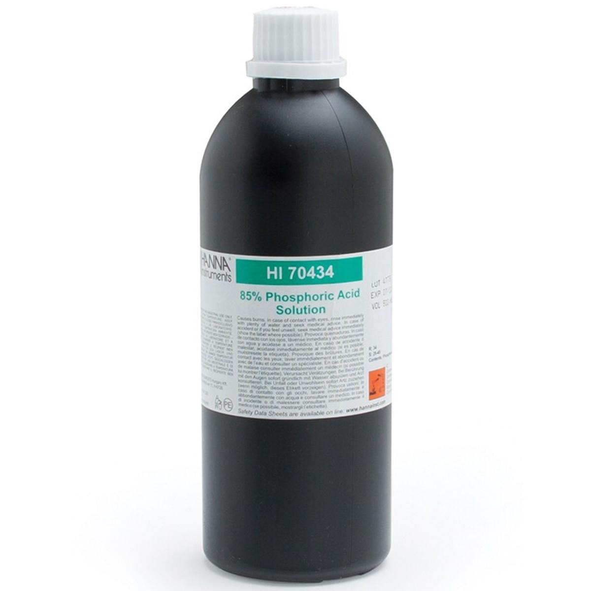 Phosphoric Acid Solution 85%, 500 mL - HI70434