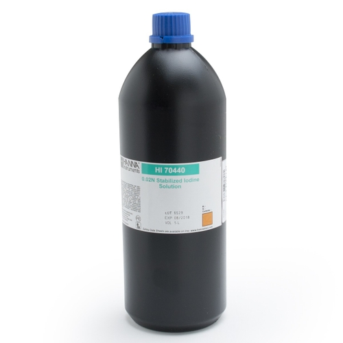 Stabilized Iodine 0.02N, 1L - HI70440
