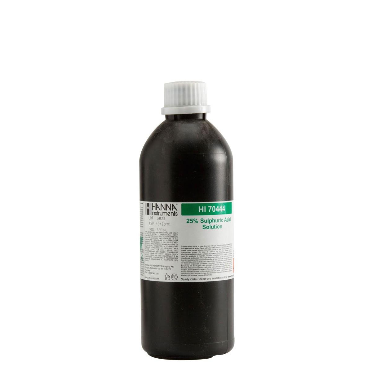 Sulfuric Acid Reagent 25%, 500 mL - HI70444