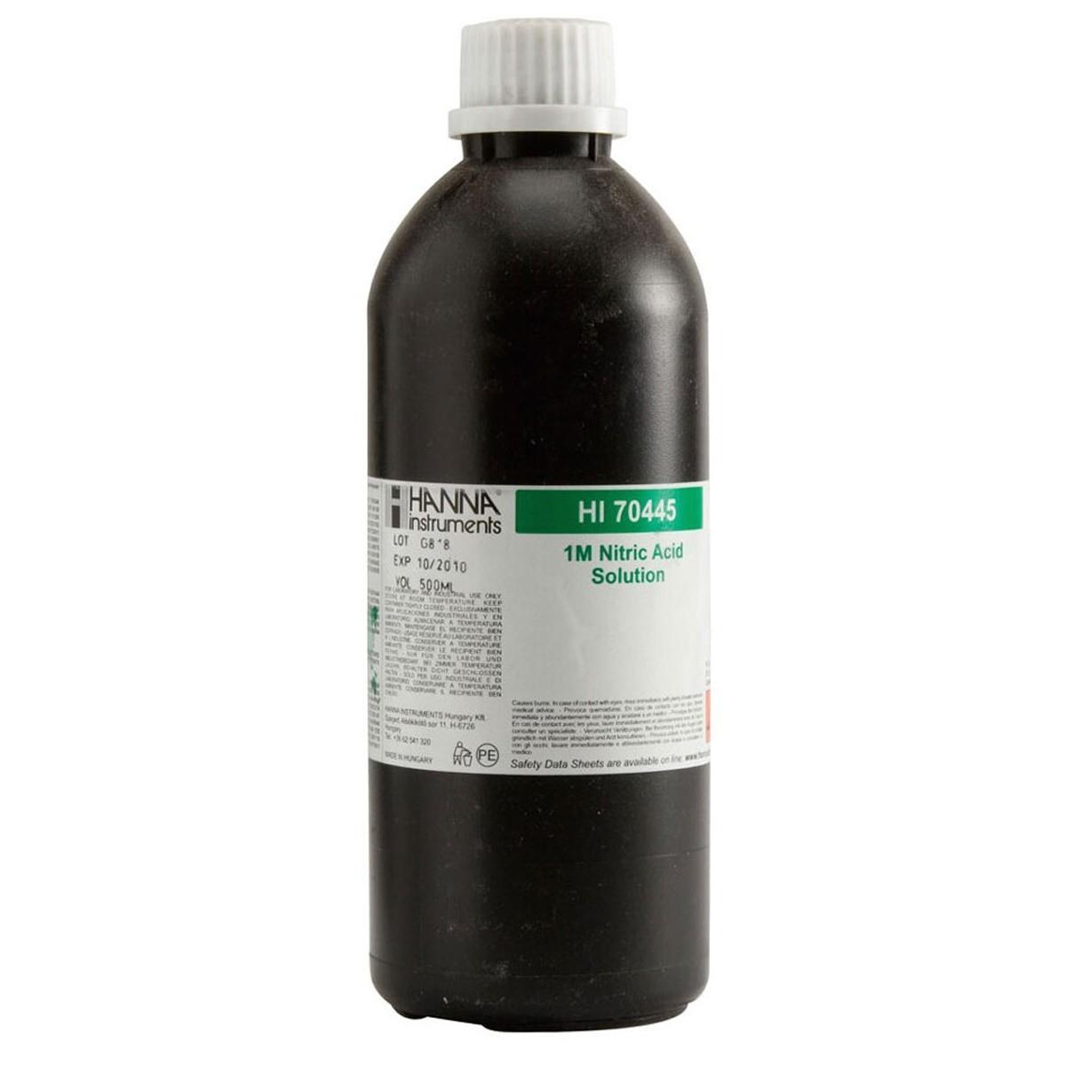 Soluzione acido nitrico 1M, 500 mL - HI70445
