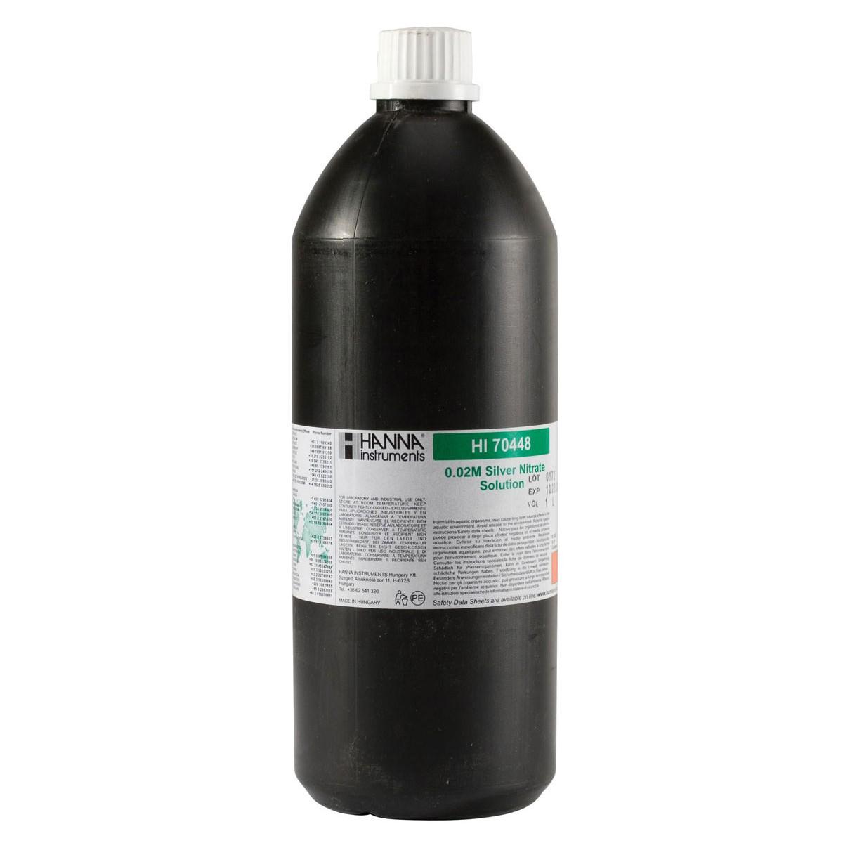 Nitrato d'argenti 0.02M, 1L - HI70448
