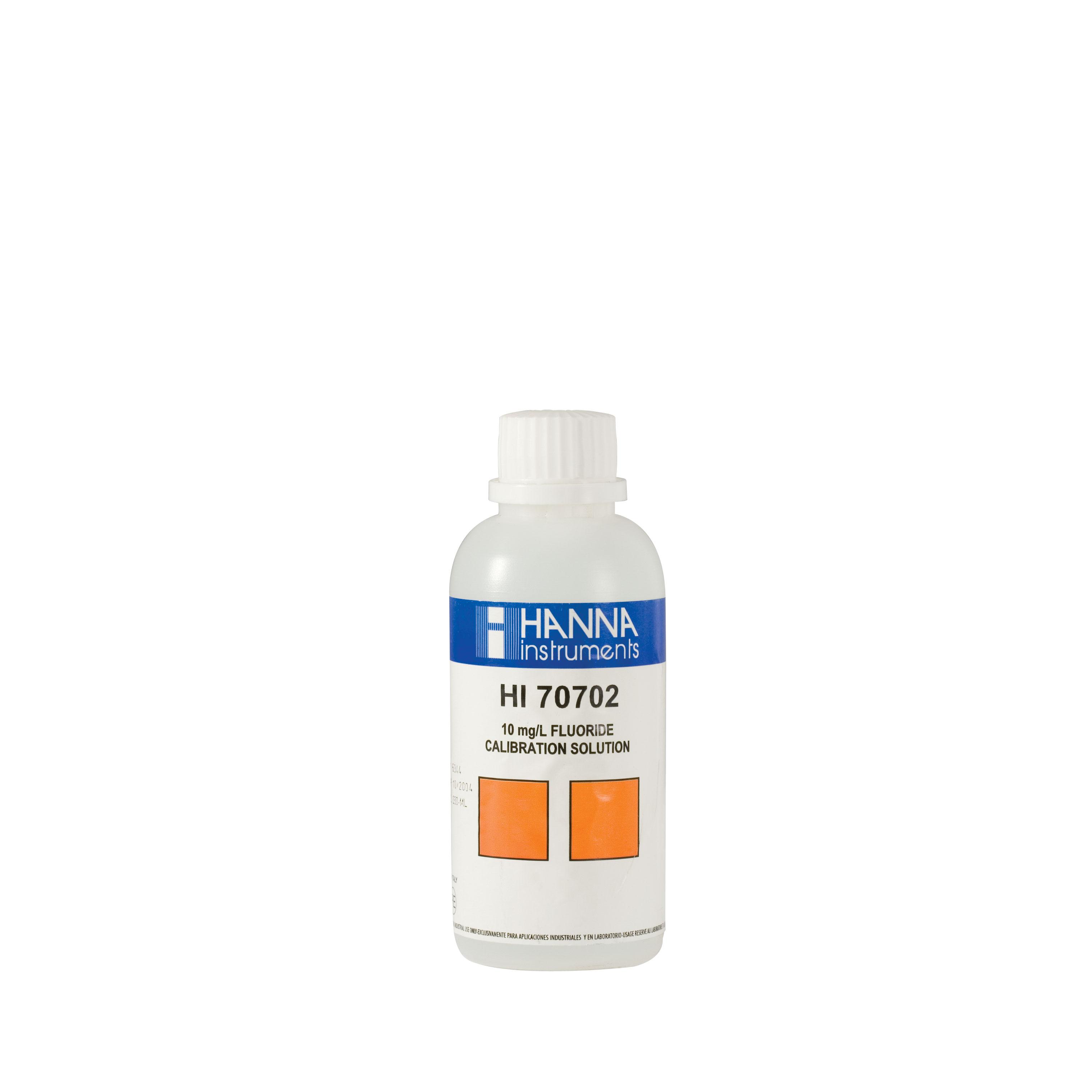 HI70702M Fluoride Standard Solution 10 mg/L (230 mL)