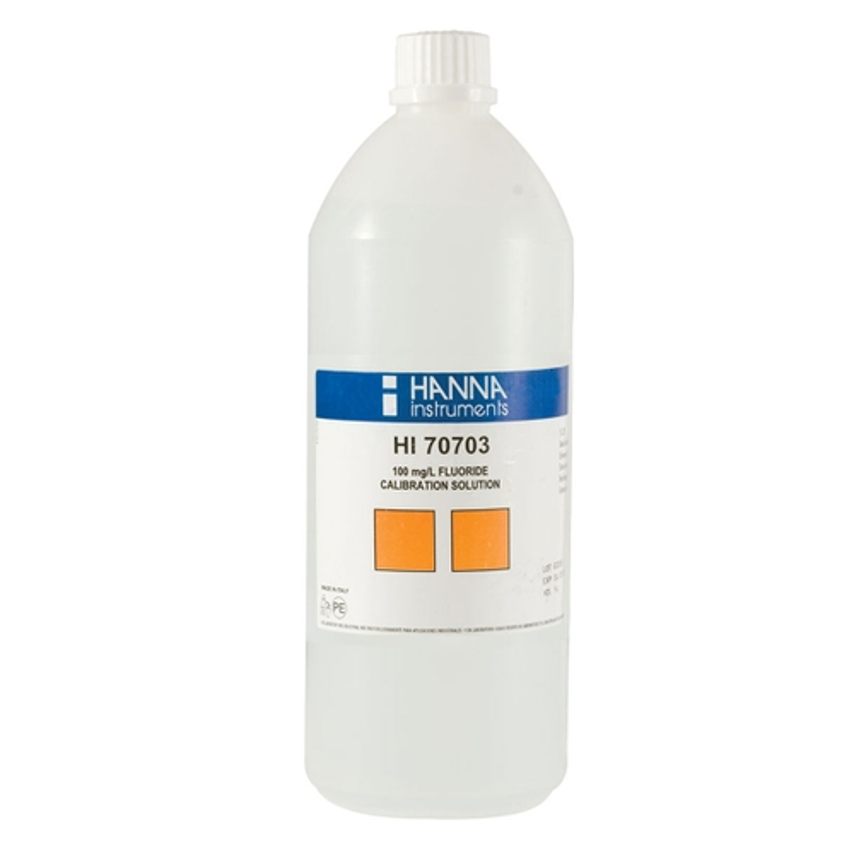 HI70703/1L Fluoride Standard Solution 100 mg/L (1 L)