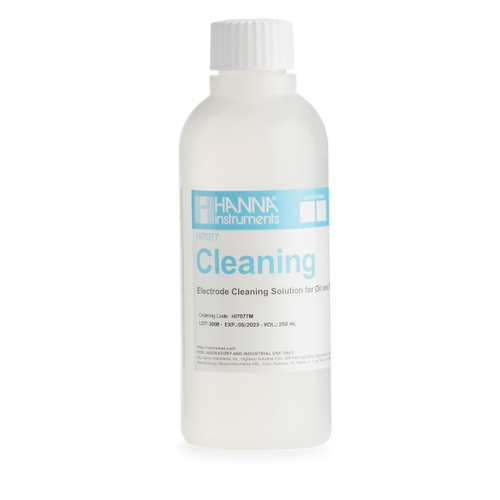 HI7077M Electrode Cleaning Solution for Oil and Fats (230 mL)