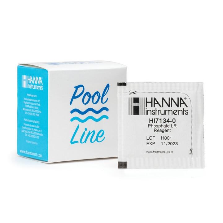 Pool Line Low Range Phosphate Checker Reagents - HI7134-25