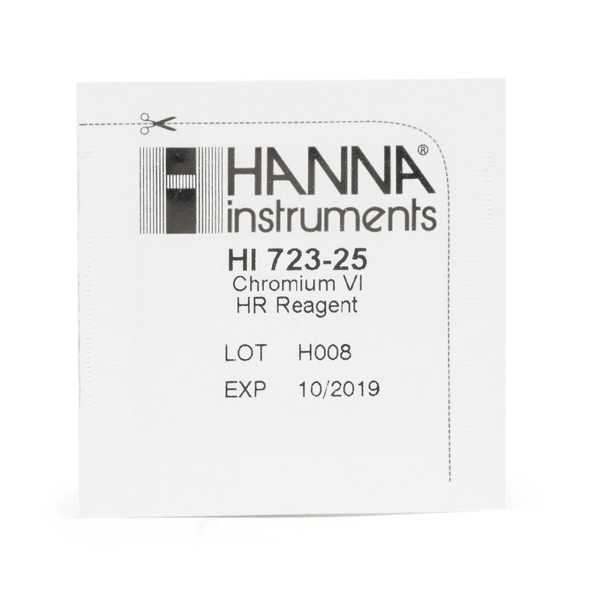 HI723-25 Reagenti per Cromo VI Scala Alta