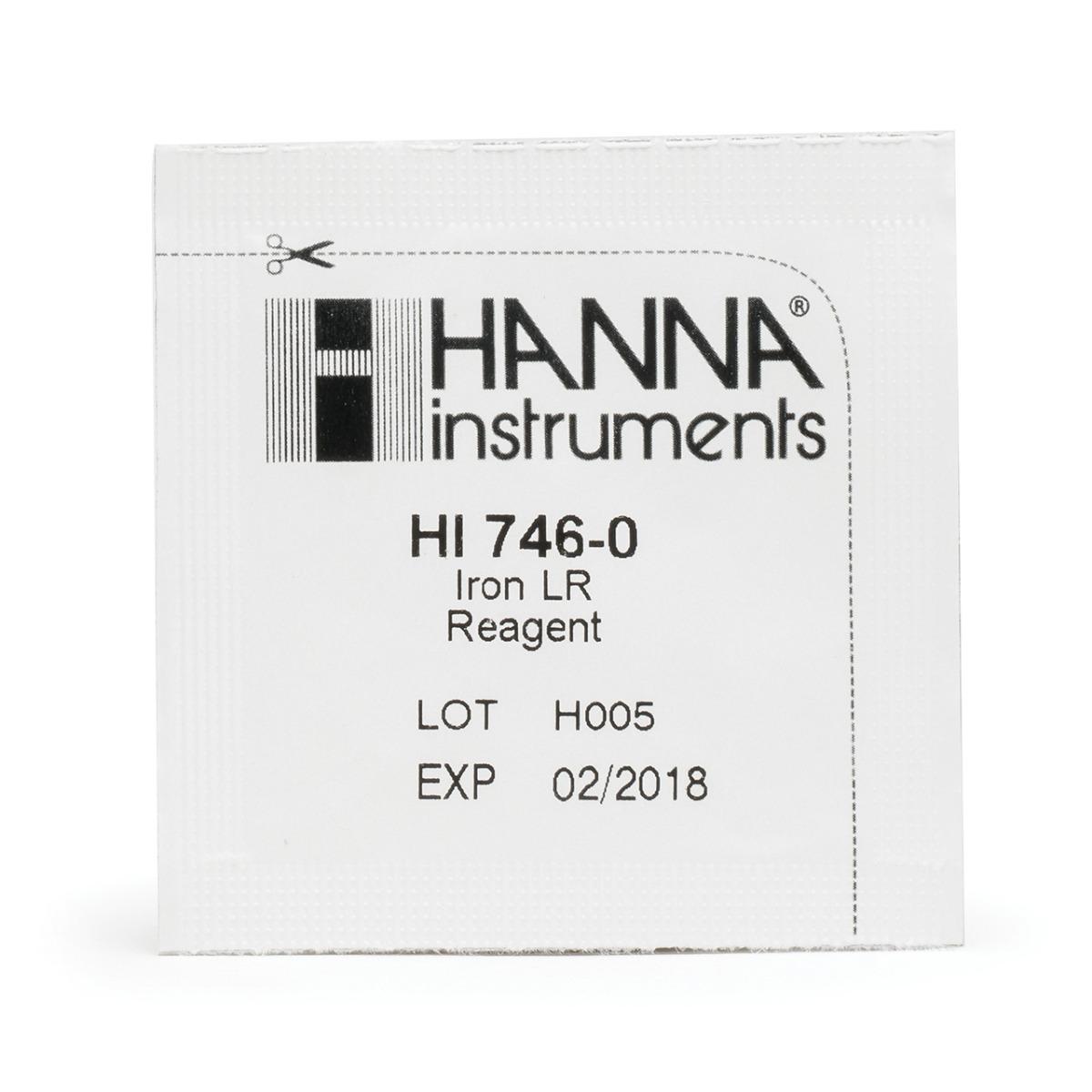 HI746-25 Reagenti per Ferro Scala Bassa