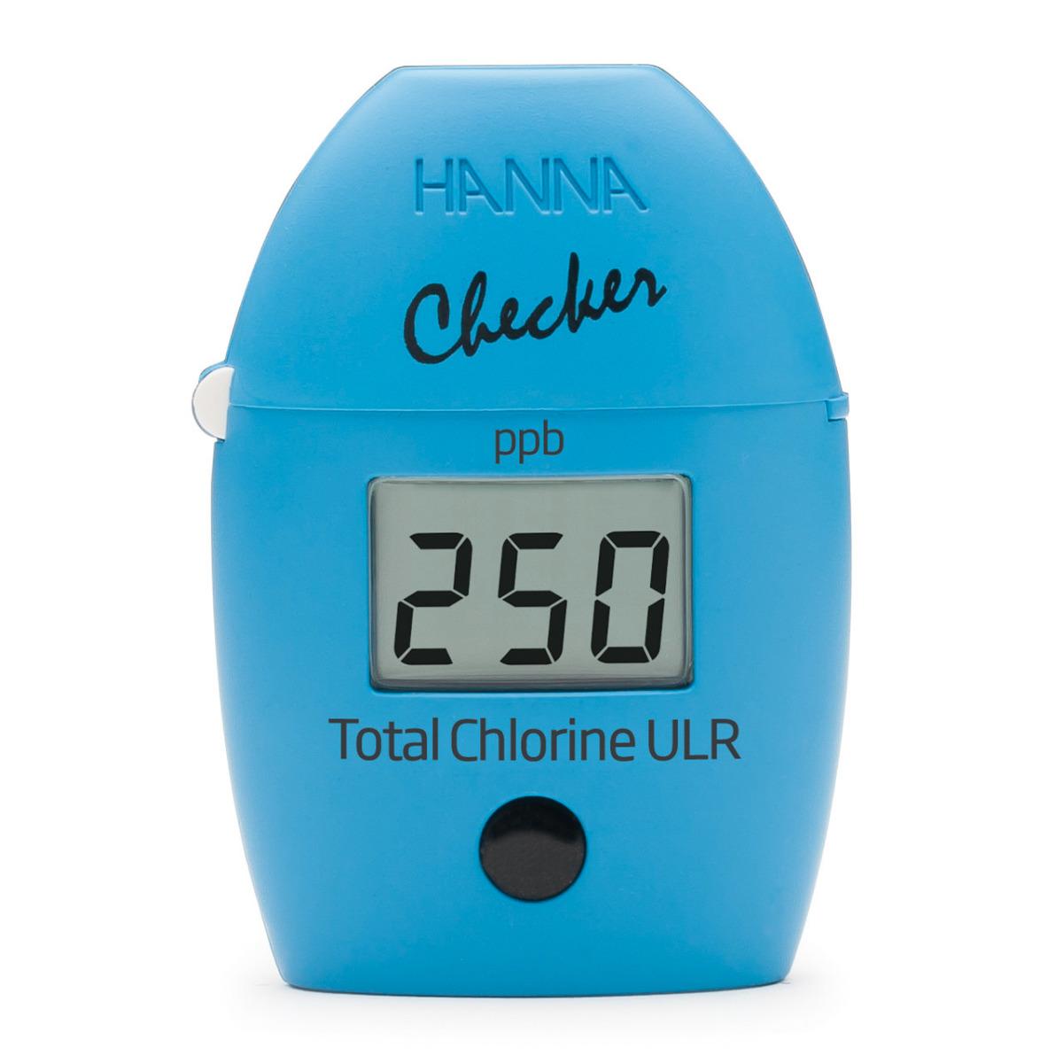 HI761 Checker HC - Colorimetro tascabile per Cloro Totale - Scala Ultra Bassa