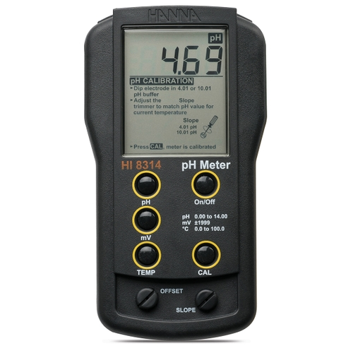 Analog pH/mV/°C meter  HI8314