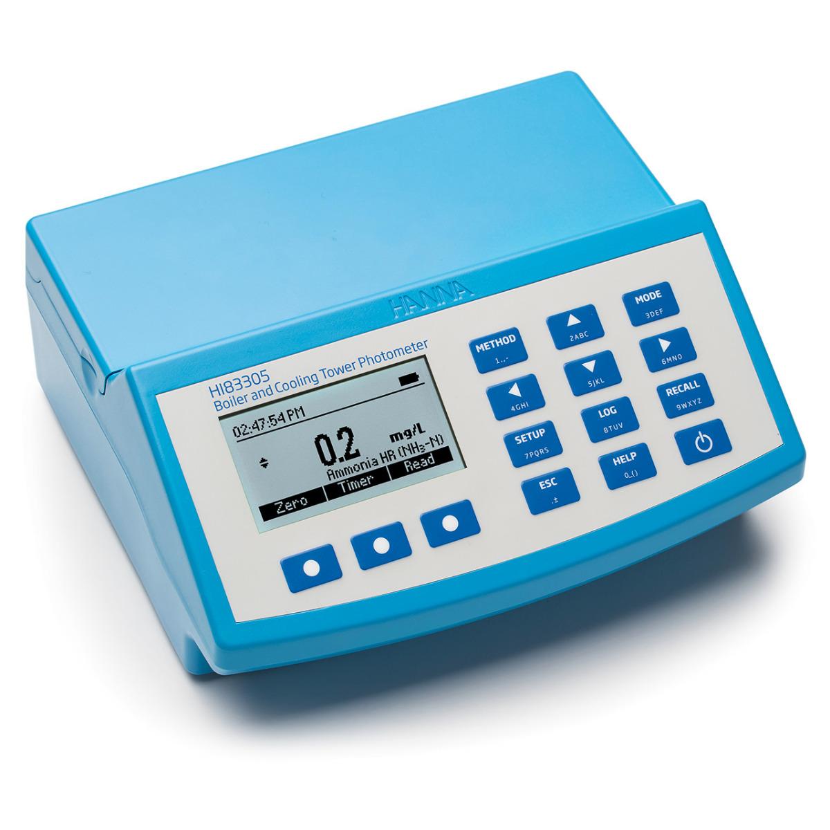 HI83305 - Fotometro da banco per caldaie e sistemi di raffreddamento (30 metodi)