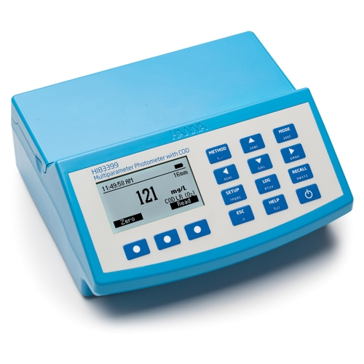 HI83399 - Fotometro multiparametro con COD (78 metodi)