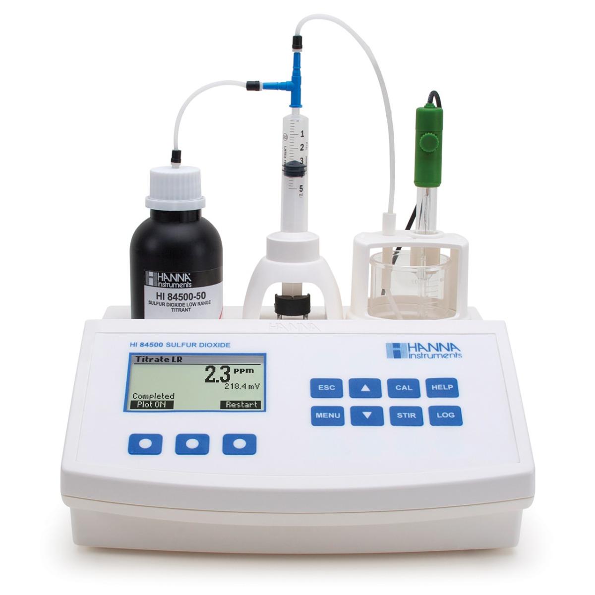 HI84500 - Minititolatore per l'analisi di anidride solforosa nel vino