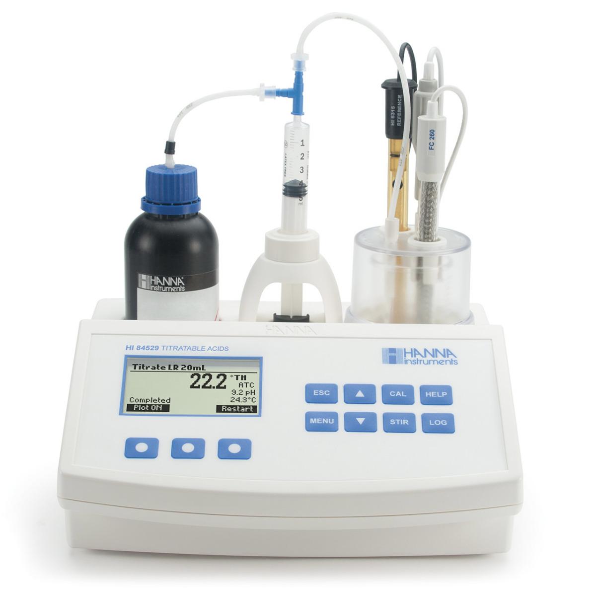 HI84529 - Minititolatore per l'analisi dell'acidità totale nei prodotti caseari