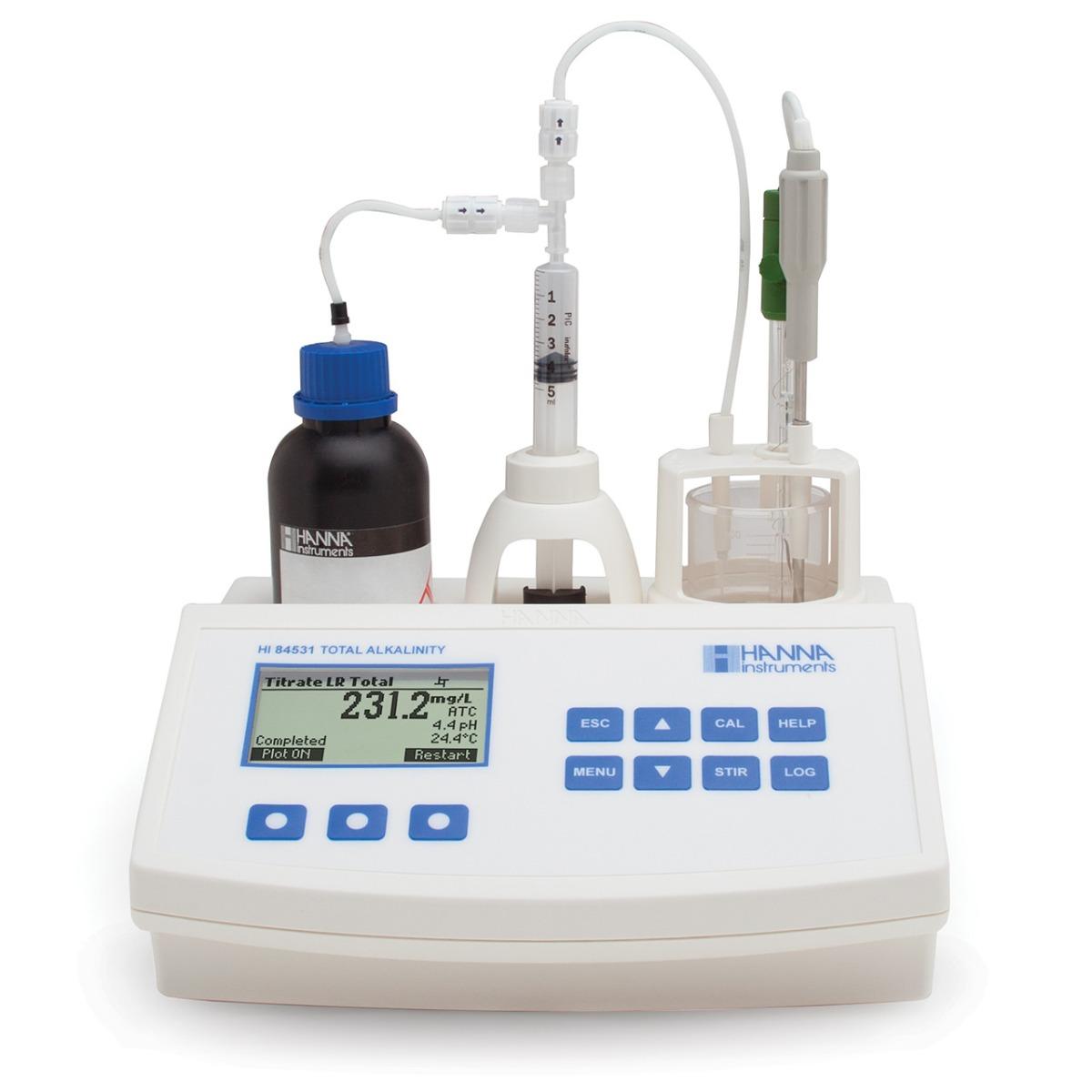 HI84531 - Minititolatore per l'analisi dell'alcalinità dell'acqua