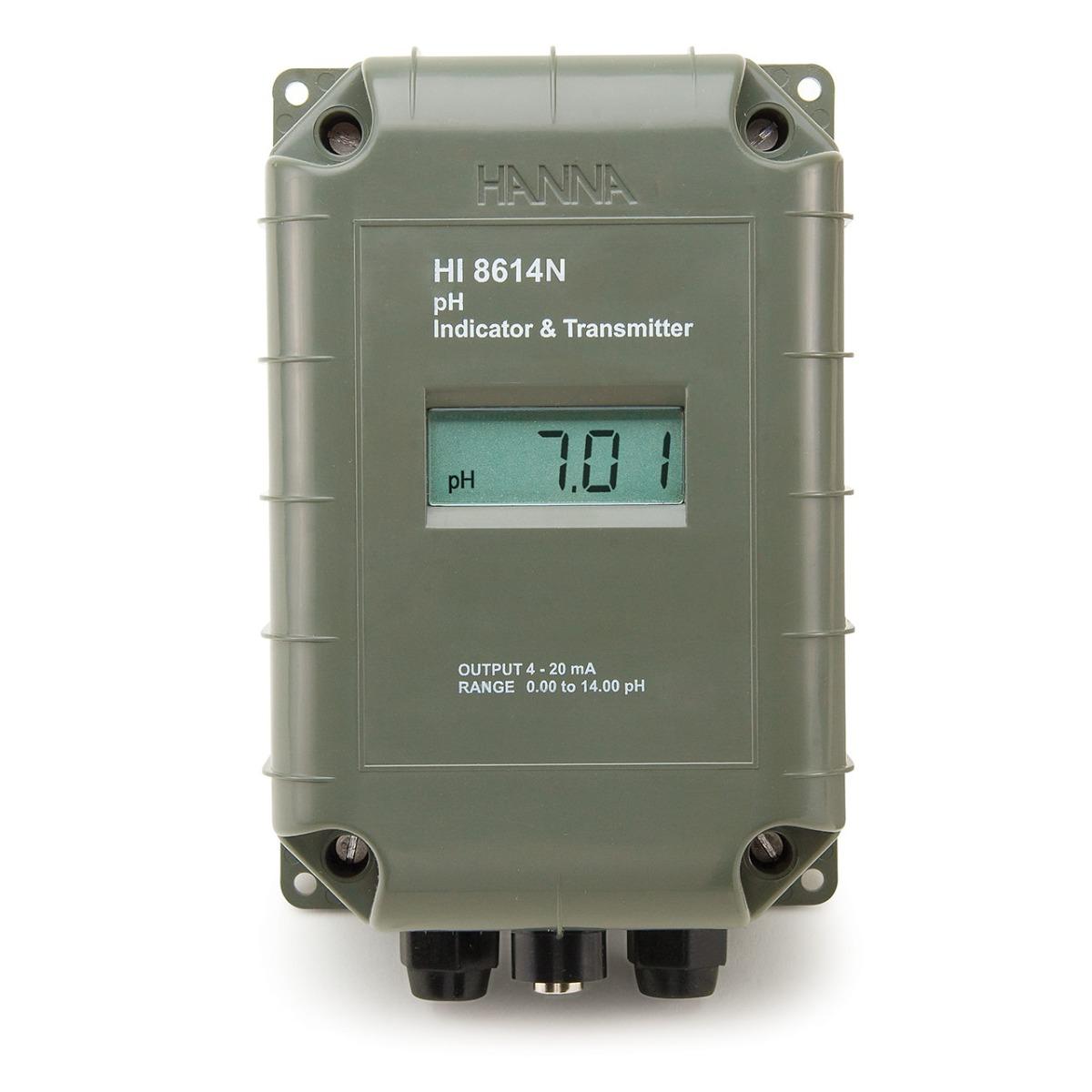 HI8614 - trasmettitore e indicatore pH con LCD