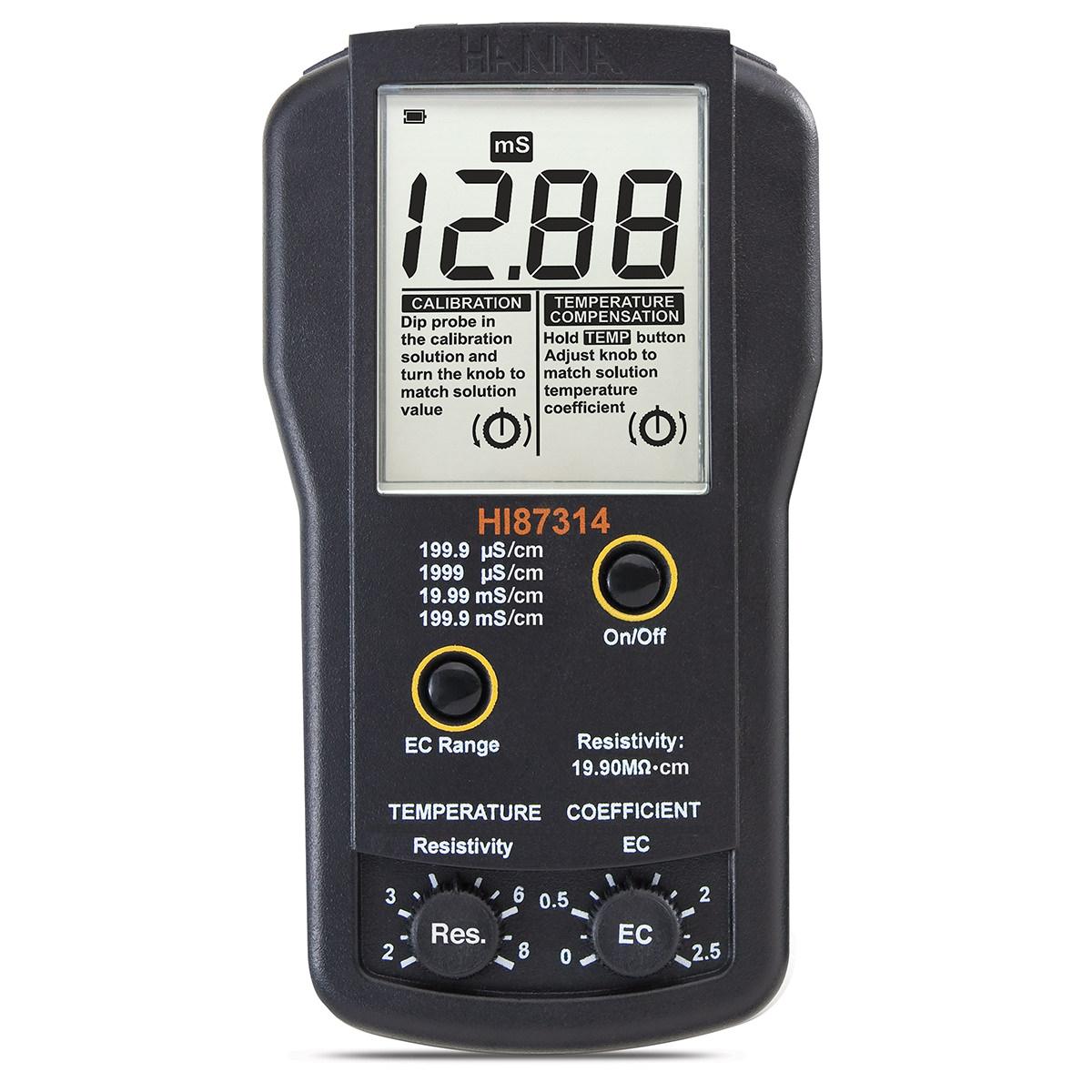 HI87314 - Misuratore portatile di EC e resistività