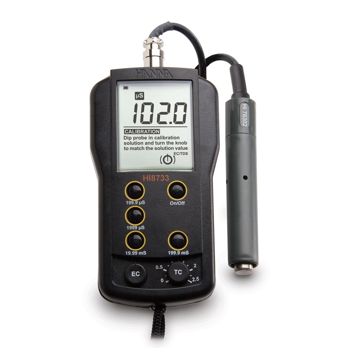 HI8733 - Conduttivimetro portatile multiscala