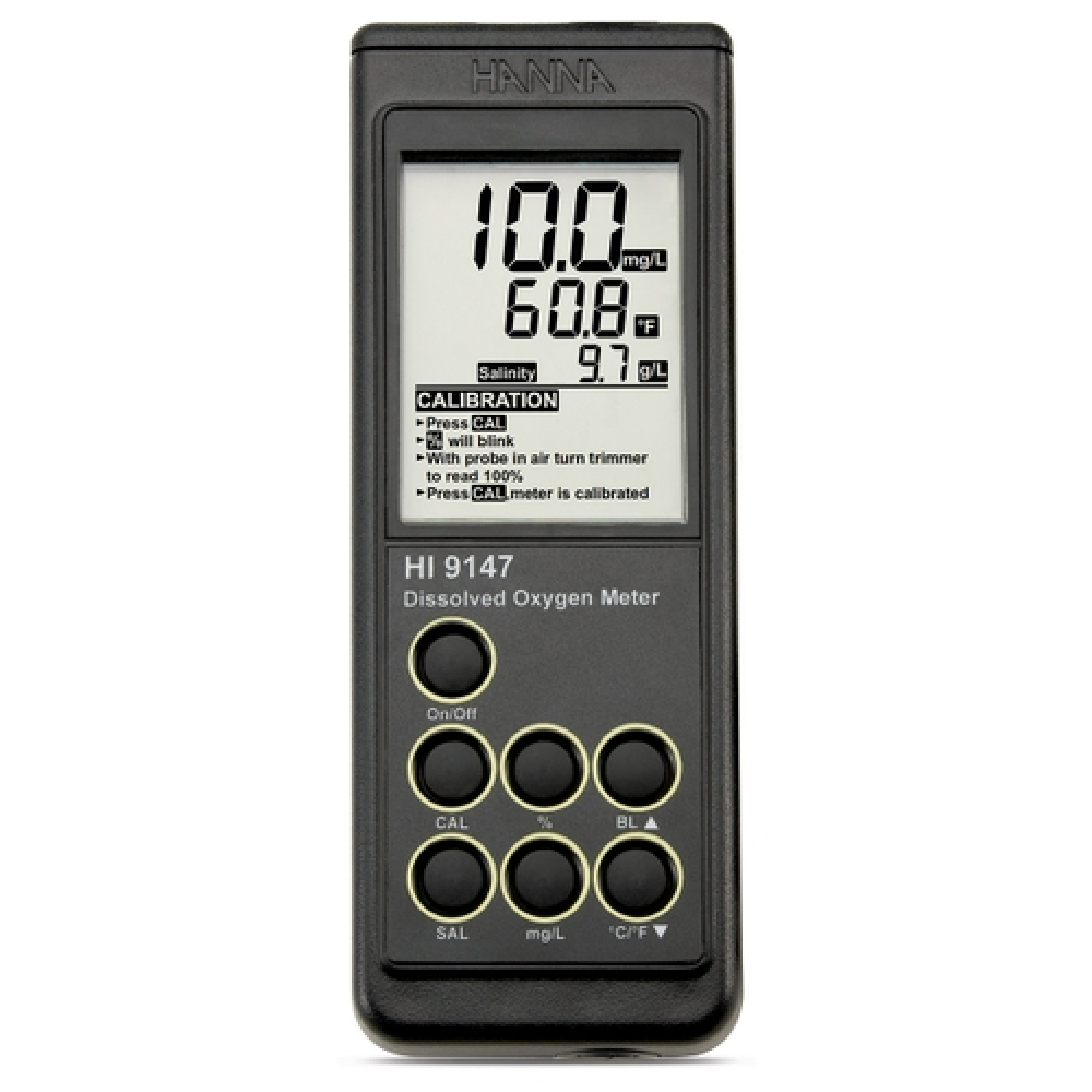 Ossimetro portatile con sonda galvanica - HI9147