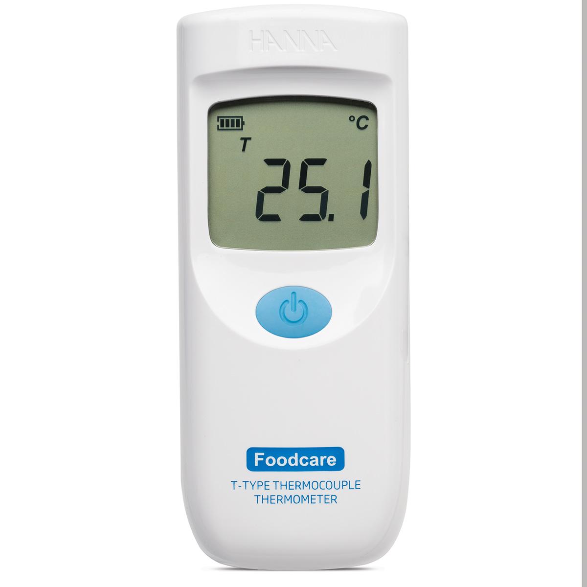 HI9350041 Termometro a Termocopiia tipo T con sonda ultra rapida per alimenti