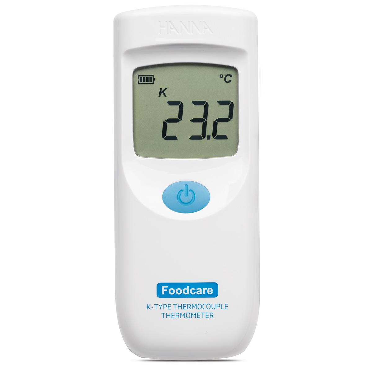 Termometro a termocoppia tipo K con sonda fissa per alimenti - HI935007C