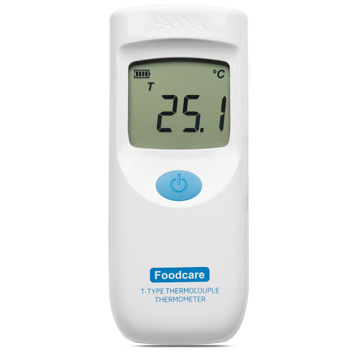 Termometro a termocoppia tipo T con sonda fissa per alimenti - HI935008C