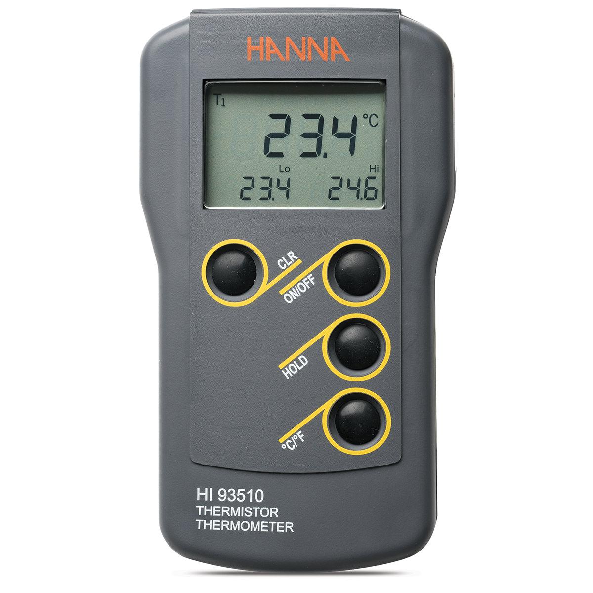 Termometro a termistore a tenuta stagna - HI93510