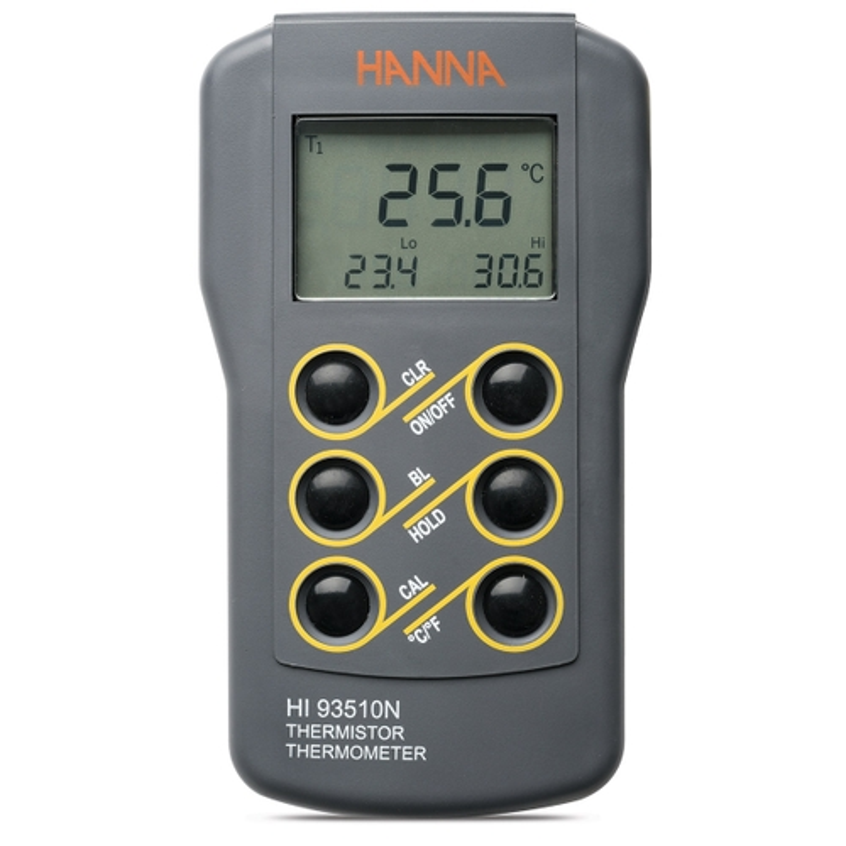 HI93510N - Termometro a termistore a tenuta stagna con funzione di calibrazione