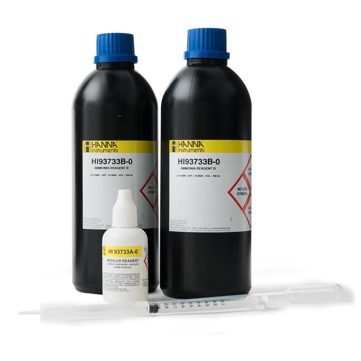 Reagenti ammoniaca scala alta (300 analisi) - HI93733-03
