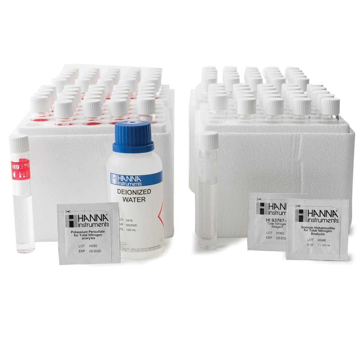 Reagenti azoto totale scala alta (50 analisi) - HI93767B-50