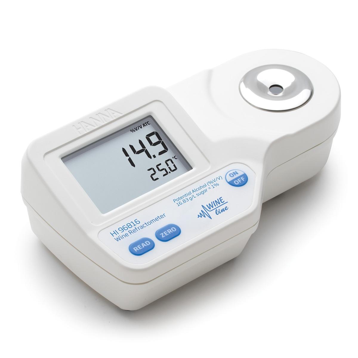 HI96816 - rifrattometro digitale per potenziale alcolico  nel vino