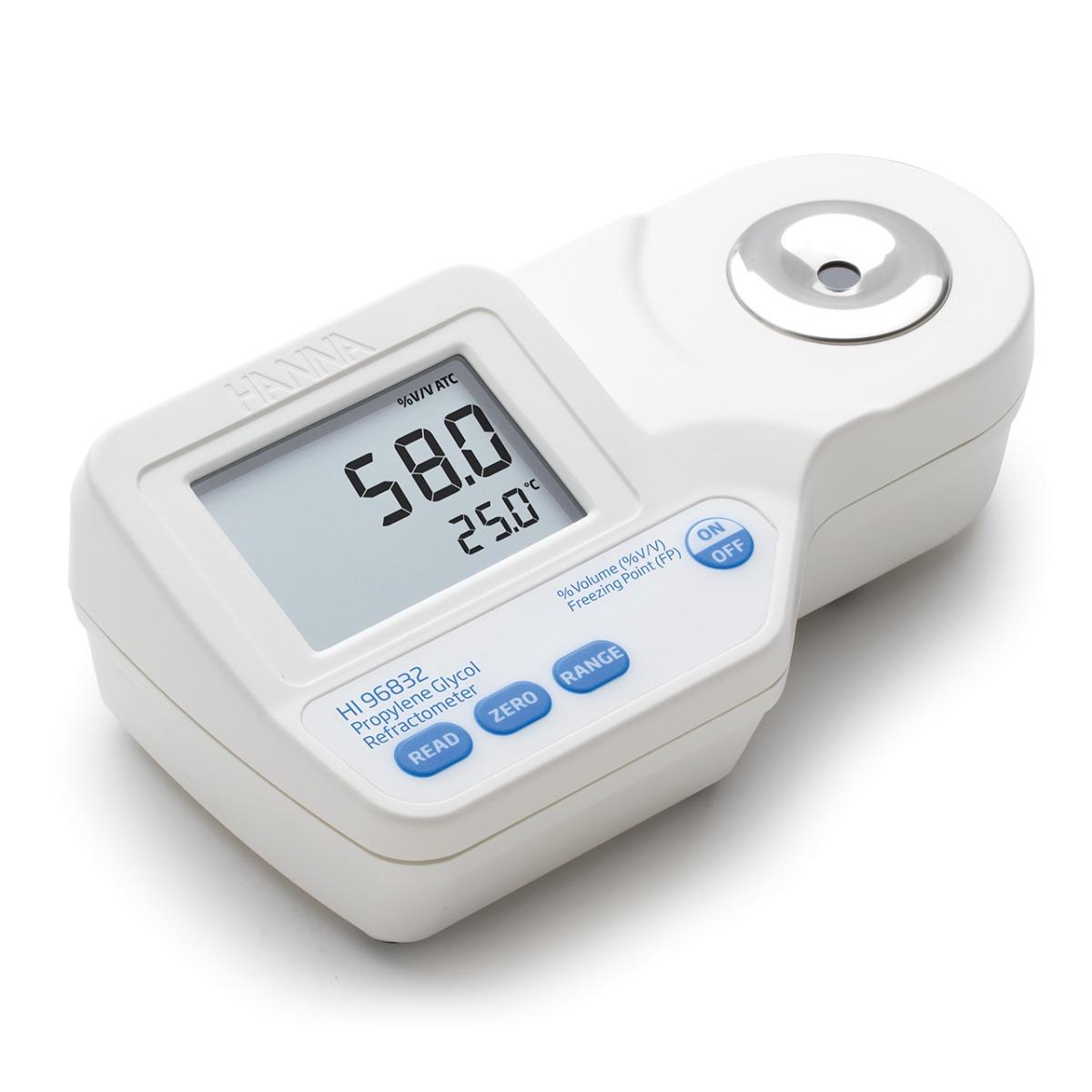 Rifrattometro digitale per analisi di glicole propilenico - HI96832