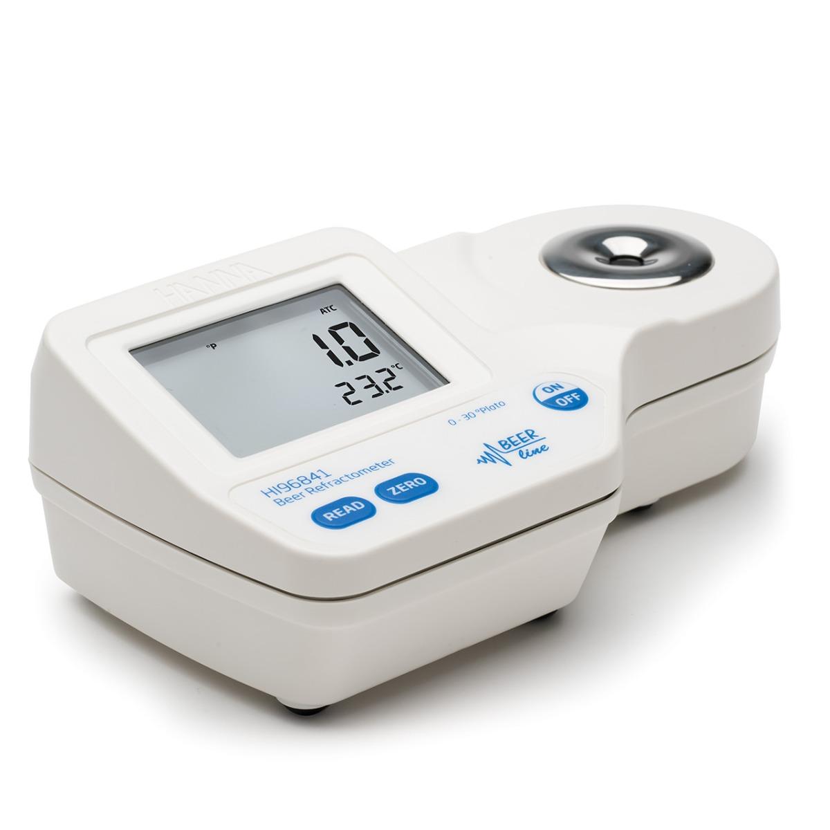 Rifrattometro digitale per la misura della birra 0-30 °Plato - HI96841