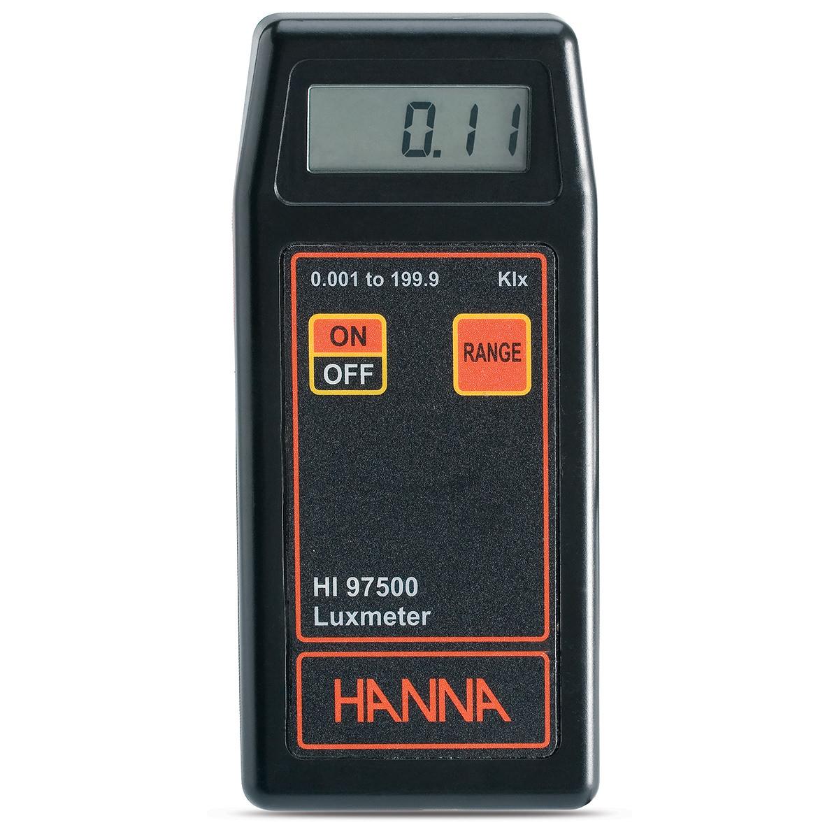 HI97500 - Luxmetro, fornito con batteria e custodia