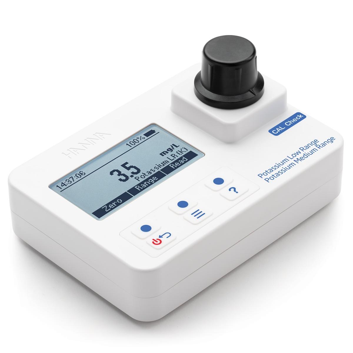 HI97750 Potassium Low and Medium-Range Portable Photometer